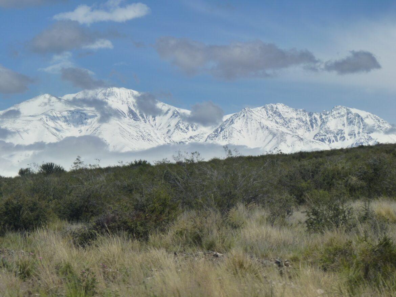 Il a neigé sur les Andes…