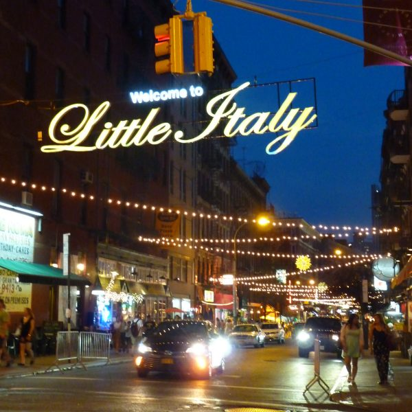 Little Italy by night